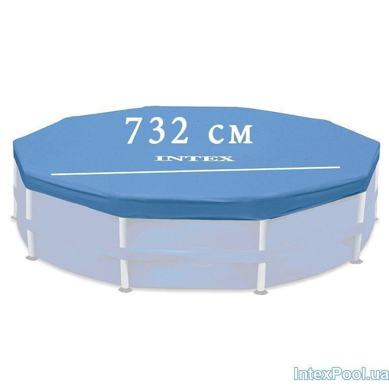 Тент - чехол для каркасного Intex 12469 box, 732 см
