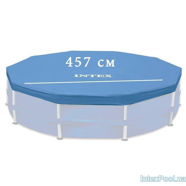 Тент - чехол для каркасного Intex 28032 box (28734/28736), 457 см