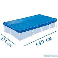 Тент - чехол для каркасного бассейна Intex 28352 box, 549 х 274 см