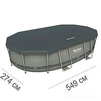 Тент для бассейна Bestway 58485 box, овальный 549 х 274 см, фото 1