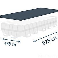 Тент - чехол для каркасного бассейна IntexPool 44023, 975 х 488 см