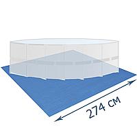 Подстилка для бассейна Bestway 58000, 274 х 274 см, квадратная
