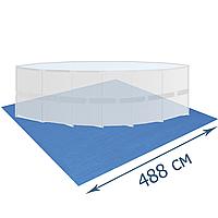 Подстилка для бассейна Bestway 58003, 488 х 488 см, квадратная, фото 1