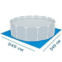Подстилка для бассейна Bestway 58031 box (56427), 549 х 549 см, фото 1