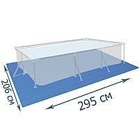 Подстилка для бассейна Bestway 58100, 295 х 206 см, прямоугольная