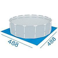Подстилка для бассейна Bestway 58250, 488 х 488 см, квадратная