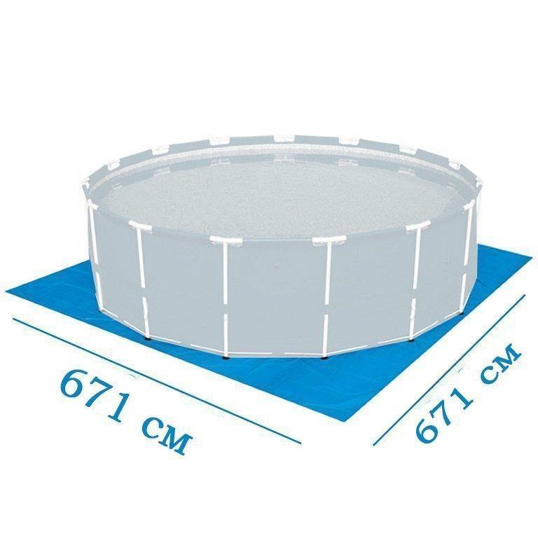 Подстилка для бассейна Bestway 58373 box, 671 х 671 см
