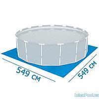 Подстилка для бассейна Intex 28252 box, 549 х 549 см, квадратная