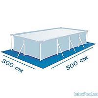 Подстилка для бассейна Intex 28319 box, 500 х 300 см, прямоугольная