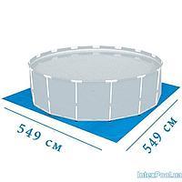 Подстилка для бассейна Intex 28336 box, 549 х 549 см, квадратная, фото 1