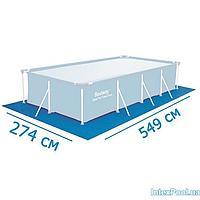 Подстилка для бассейна Intex 28351 box, 549 х 274 см, прямоугольная