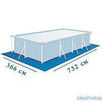 Подстилка для бассейна Intex 28365 box, 732 х 366 см, прямоугольная