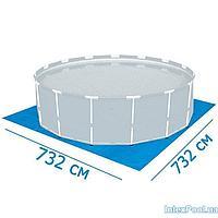 Подстилка для бассейна Intex 28762 box, 732 х 732 см, квадратная