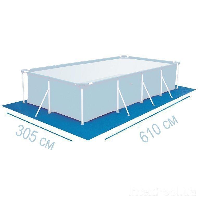 Подстилка для бассейна Intex 55798 box, 610 х 305 см