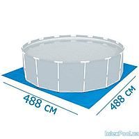 Подстилка для бассейна Intex 58927 box, 488 х 488 см, квадратная