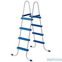 Архивный лестница для бассейна Intex 28062 box (58974),(122 см) двухсекционная