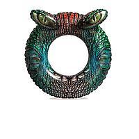 Надувной круг с животным Bestway 36122 Крокодил, 91 см, крокодил, фото 1
