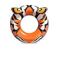Надувной круг с животным Bestway 36122 Тигр, 91 см, тигр