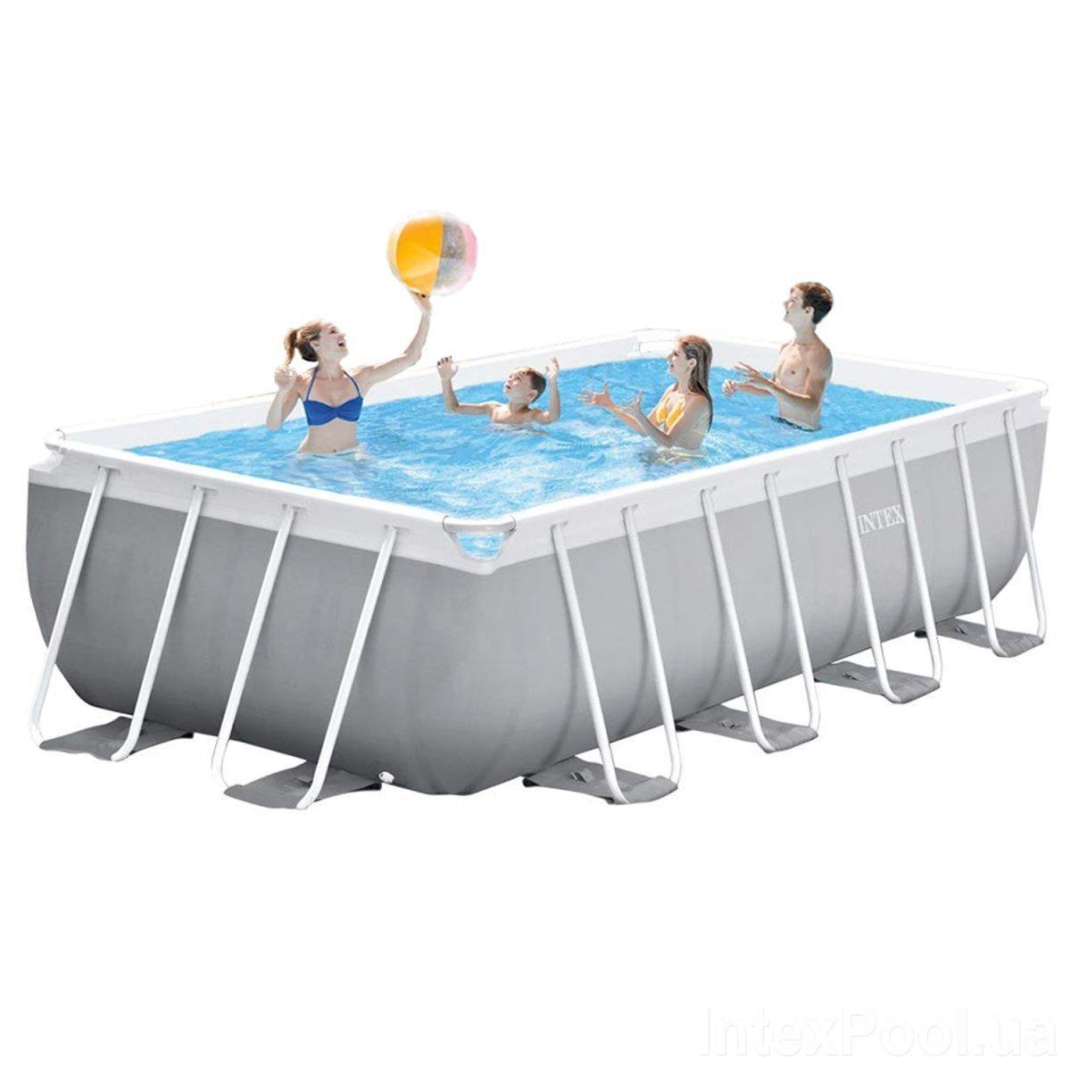 Каркасный бассейн Intex 26792 - 0, 488 x 244 x 107 см
