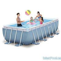 Каркасный бассейн Intex 28316, 400 х 200 х 100 см
