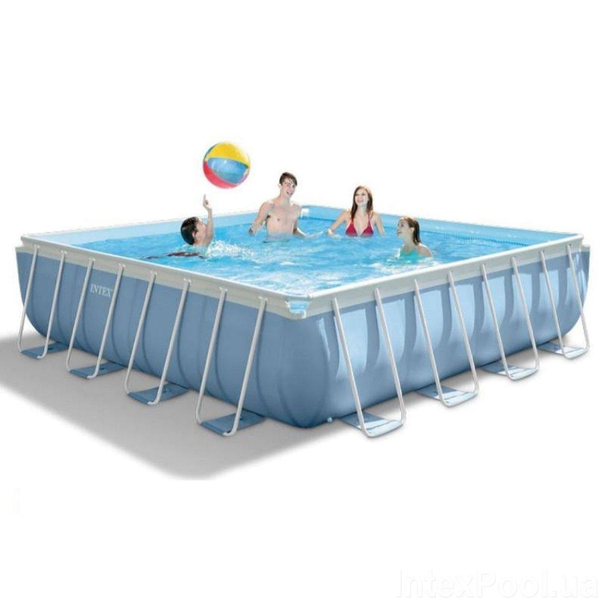Каркасный бассейн Intex 28766 - 0, 488 x 488 x 122 см