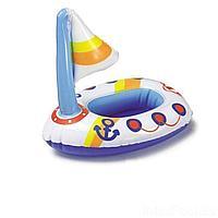 Надувная водная игрушка Intex 58590-FL Парусник, 36 х 18 см