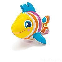 Надувная водная игрушка Intex 58590-RR Рыбка, 25 х 20 см