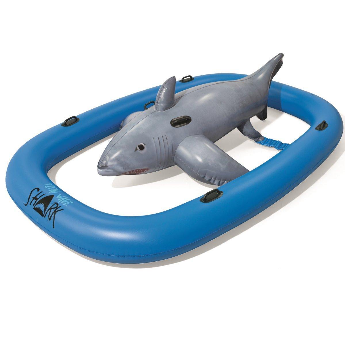 Надувная игра на воде Bestway 41124 Акула, 310 х 213 см