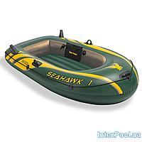Одноместная надувная лодка Intex 68345 Seahawk 1, 193 х 108 х 38 см