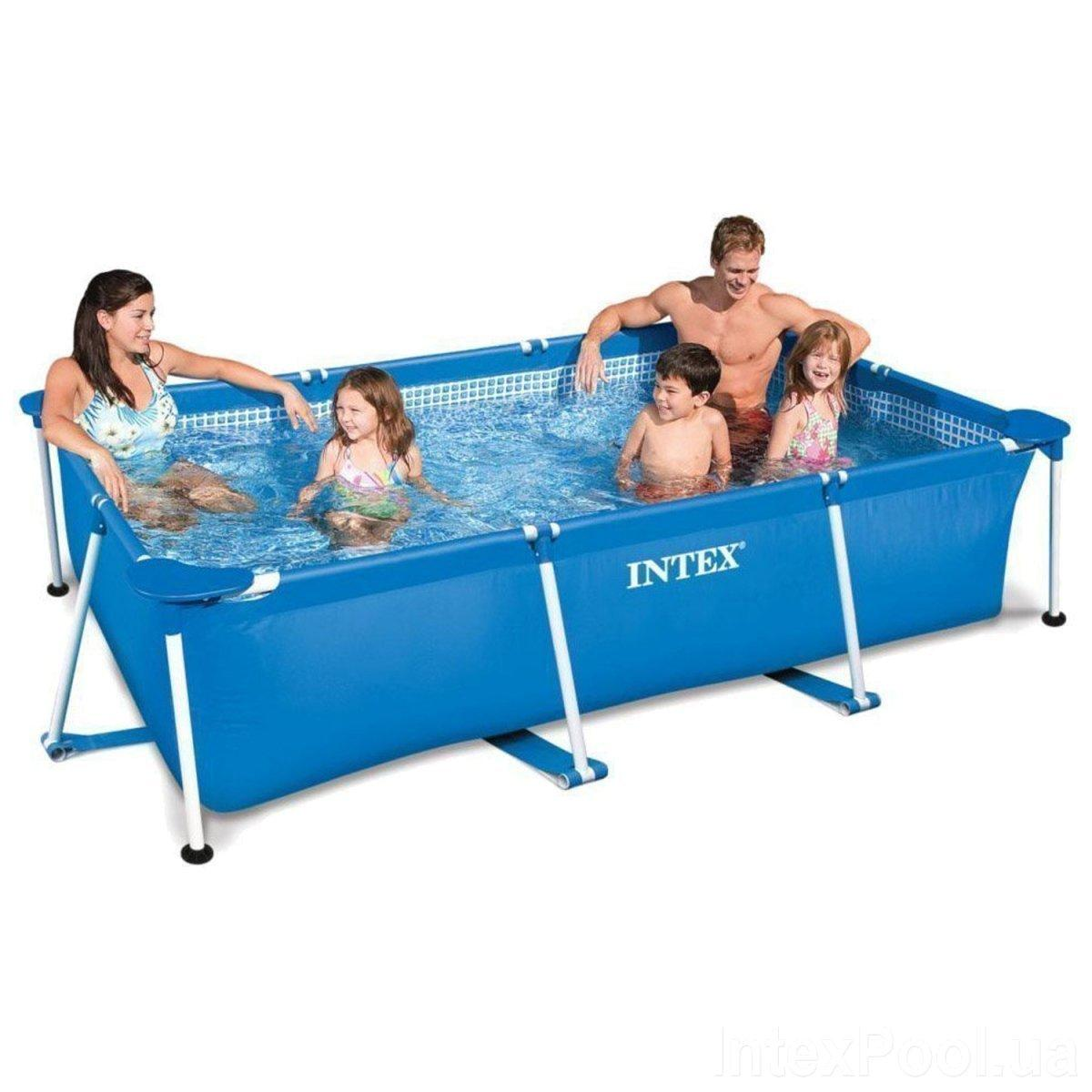 Каркасный бассейн Intex 28270, 220 х 150 х 60 см