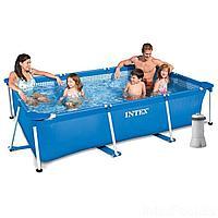 Каркасный бассейн Intex 28272 - 4, 300 х 200 х 75 см (2 006 л/ч, тент, подстилка), фото 1