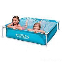 Каркасный бассейн Intex 57173, 122 х 122 х 30 см, голубой, фото 1