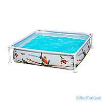 Каркасный бассейн Intex 57174, 120 х 120 х 30 см, фото 1