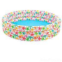 Детский надувной бассейн Intex 56440 Звездочка, 168 х 38 см
