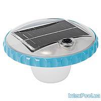 Подсветка для бассейна Intex 28695, плавающая лампа - поплавок. Работает от солнечной батареи, автовкл/выкл
