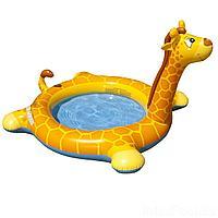 Детский надувной бассейн Intex 57434 Жираф, 208 х 165 х 122 см, с фонтаном, фото 1