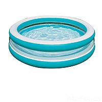 Детский надувной бассейн Intex 57489 Линза с прозрачными стенками, 203 х 51 см