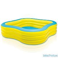 Детский надувной бассейн Intex 57495 Семейный, 229 х 229 х 56
