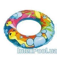 Детский надувной круг для плавания Intex 58245 Тюлень, 61 см