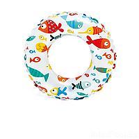 Надувной круг Intex 59230 Рыбки, 51 см