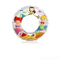 Надувной круг Intex 59242 Русалочки на песке, 61 см