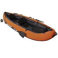Двухместная надувная байдарка (каяк) Bestway 65052 Ventura Kayak, 330 см х 94 см, с веслами и насосом