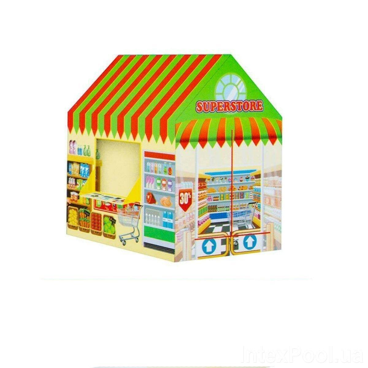 Детский игровой домик Bambi M 3789 Магазин, 103 х 93 х 69 см