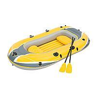 Двухместная надувная лодка Bestway 61068 Hydro - Force Raft, желтая, 255 х 127 х 41 см