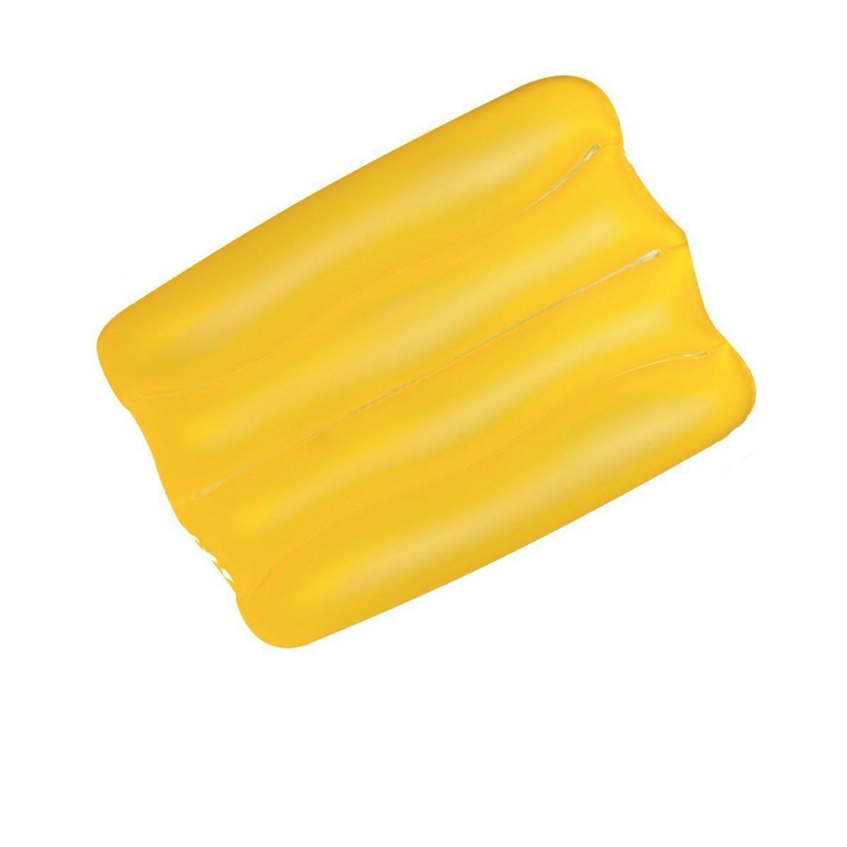 Надувная виниловая подушка Bestway 52127, желтая, 38 х 25 х 5 см