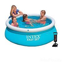 Надувной бассейн Intex 28101 - 2, 183 х 51 см (насос, подстилка)