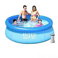 Надувной бассейн Intex 28110 - 2, 244 х 76 см (2 006 л/ч)