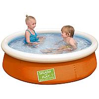 Надувной бассейн Bestway 57241, 152 х 38 см, оранжевый