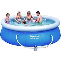 Надувной бассейн Bestway 57263, 366 х 91 см (2 006 л/ч)