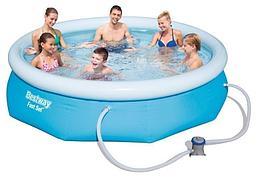 Надувной бассейн Bestway 57272, 274 х 76 см (1 250 л/ч)